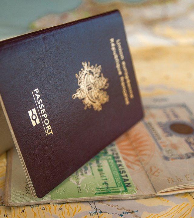 passport, visa, border